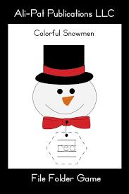 Colorful Snowmen Ali Pat Publications Llc Currclick