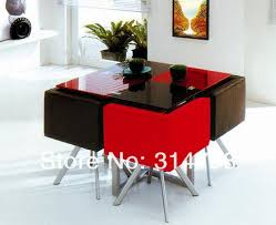 glass dining table price online. modern design dining sets, glass table with powder coating legs, leather chair price online g