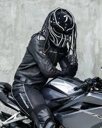 Predator Motorcycle Helmet Designs Black White Blade Predator Motorcycle Helmet Dot Approved
