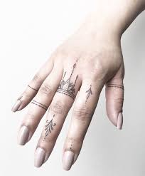 Finger Tattoos By Joanna Done At Chronic Ink Tattoo Toronto