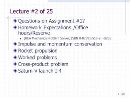 lecture questions on assignment homework expectations 1 lecture 2 of 25 questions on assignment 1 homework expectations office