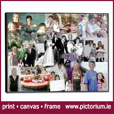 40th birthday photo collage blend collage print canvas framed pictorium photo monkstown dublin we