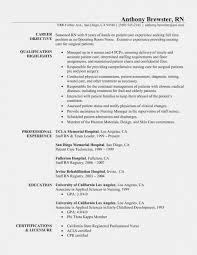 Sample Resume For Lpn Nurse Rn Resume Template Sample New Registered Nurse Examples I16
