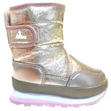 Rubber Duck Snowjoggers Cracked Metallic Rose Gold