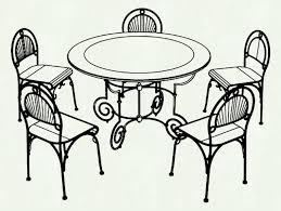 dining room table clipart black and white. Uncategorized Dining Room Clipart Black And White Stunning Dinner Table T