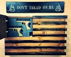 black and wood american flag home defense concealment wall art within wooden american flag wall art