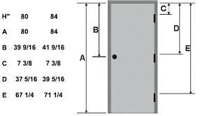 standard height of door hardware locations standard height door uk