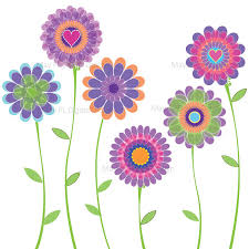 spring free printable clipart 1