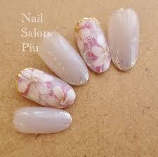 Nail Salon Piuさんの投稿 春ネイル 大人可愛いネイル Tredina