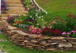 Small Picture Rock Wall Garden Designs Home Design Ideas