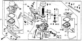 honda motorcycle carburetor diagram all wiring diagram honda motorcycle 1980 oem parts diagram for carburetor partzilla com honda fourtrax 300 carburetor diagram honda motorcycle carburetor diagram