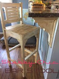 How to Make Vintage Shabby Chic Bar Stool, High Chairs   DIY