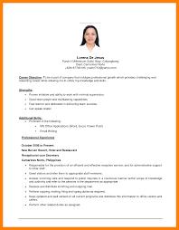 8 Simple Job Resumes Letter Setup