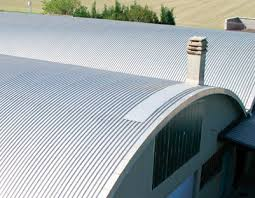 aluminum roofing corrugated curved