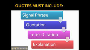 using quotations in your essay