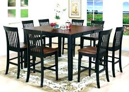 round kitchen table sets kitchen table chairs pub set tall gathering round and high top tables