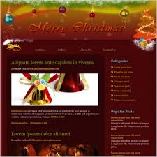 Free Christmas Website Templates Christmas Free Website Templates In Css Html Js Format For