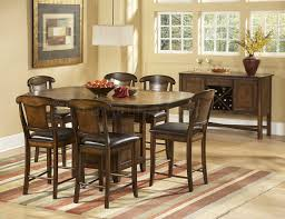 Bar Height Kitchen Table Set Kitchen Room Counter Height Dining Table Seats 4 Modern Counter