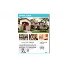 Flyer Header Real Estate Flyer Arrow Header Real Estate Postcards