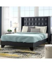 Check Out Some Sweet Savings on Wade Logan Arno Upholstered Standard Bed  XEMO0015 Size: Queen
