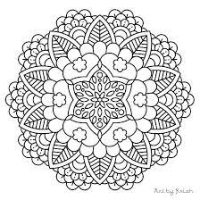 Free Mandala Coloring Free Printable Mandalas For Kids Best Coloring