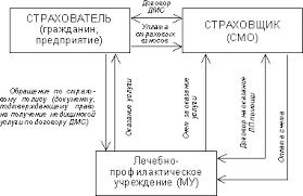 Реферат Медицинское страхование в России проблемы его развития  Взаимодействие субъектов ДМС представлено на рис 5