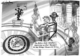 us paralysed in economic crisis mono nicholsoncartoons com au us paralysed in economic crisis mono 600