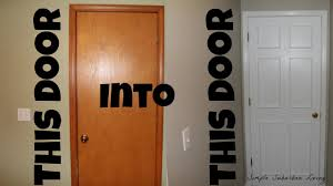 how to upscale a door for under 20