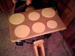inexpensive diy practice pad set up