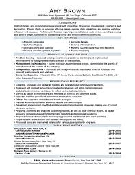 Accounting Resume Accounting Resume Ought To Be Perfect In Any Way