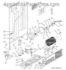 ge wr57x10086 valve and tube asm appliancepartspros com part diagram