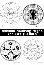 ) the word 'mandala' means circle and there are incredibly beautiful historic examples of artwork for adults they are popular meditation tools, for kids they are fun and challenging to color in. Mandala Coloring Pages For Kids Adults Woo Jr Kids Activities