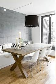 Small Picture Dining nook with banquet and rustic light wood table Kitchen