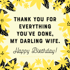 Happy Birthday Wife Quotes Cool 48 Birthday Wishes for your Wife Find her the perfect birthday wish