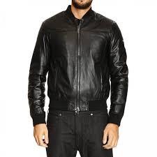 jacket men armani jeans black