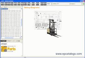 crown parts service resource tool repair manual forklift enlarge