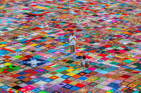 This Crochet Granny Squares Blanket is the Largest in the World ... & View in gallery crochet granny squares blanket is largest in the world 1  thumb 630xauto 54115 This Crochet Granny Adamdwight.com