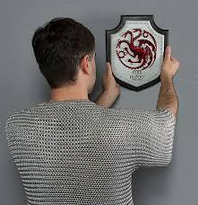 Game Of Thrones Stark House Crest Wooden Plaque of Thrones Wall Plaque 20