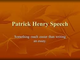 rhetorical analysis of an argument ppt video online patrick henry speech something much easier than writing an essay