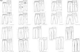 Illustrator Fashion Design Template Fachzeichnung Mode イラスト