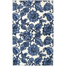 mohawk home arranged melody blue blue indoor area rug common 5 x 8