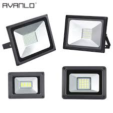 50w Led Security Light Us 3 36 84 Off Led Floodlight 50w 30w 20w 10w Ultra Thin Led Flood Light Spotlight Outdoor 220v Ip65 Outdoor Wall Lamp Flood Light Led In