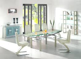 a luxurious dinner with modern dining table sets contemporary glass canada