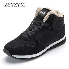 <b>ZYYZYM Men Boots</b> Winter Shoes For Men Lace Up Style Winter ...