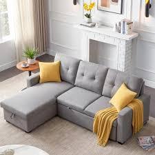 gray polyester 3 seats full