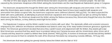 on war of  essay on war of 1812