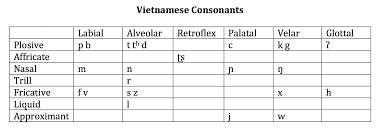 Vietnamese Ling 712 Phonetics Demos