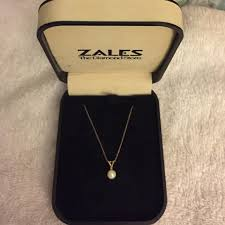 pearl jewelry zales lovely 83 off zales jewelry zales pearl necklace from emily s closet