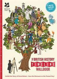 British History Timeline Wall Chart British History Timeline Wallbook What On Earth Books