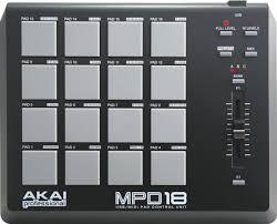 <b>MIDI</b>-<b>контроллер Akai Pro</b> MPD18